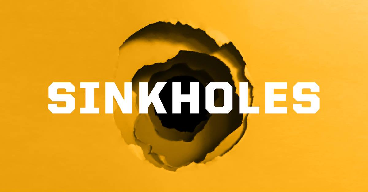 Sinkhole Warning Signs - Helicon