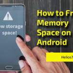 how to free memory space