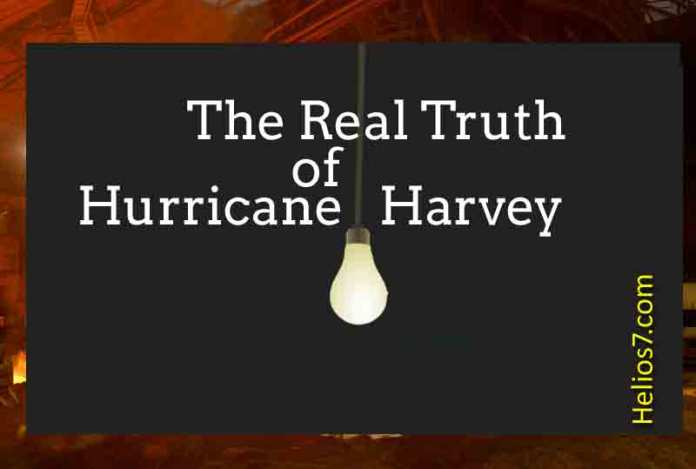 hurrican harvey conspiracy