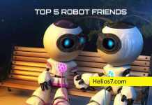 top 5 robot friends