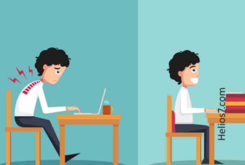 What is the Correct Sitting Posture for Sitting in Front