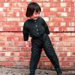 children growing flexible clothing