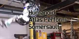 humanoid somersault