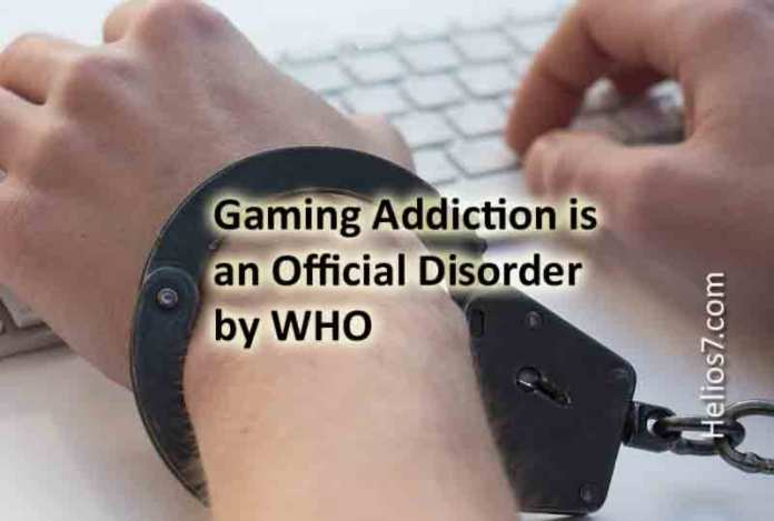 gaming addiction who