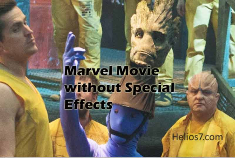 How Marvel Movies Actually Look without Special Effects