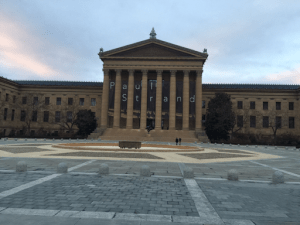 A Late Afternoon at the Philadelphia Museum of Art
