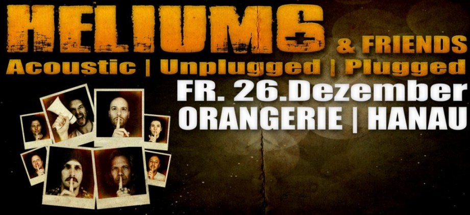 helium6 unplugged Orangerie 2015