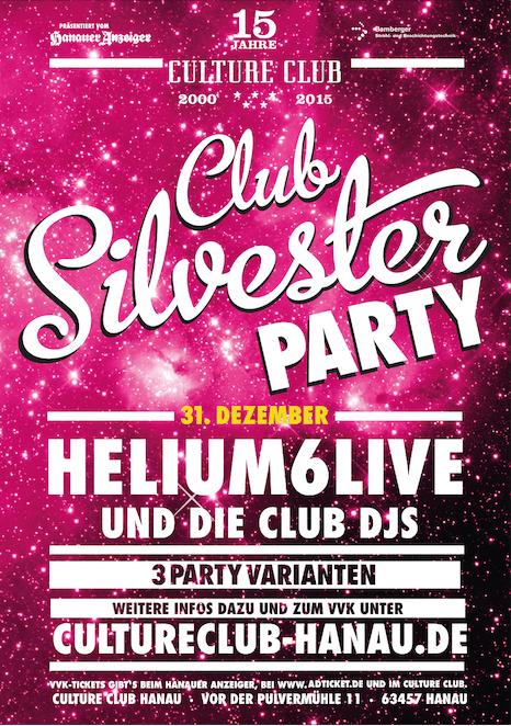 helium6 - Silvester im Culture Club