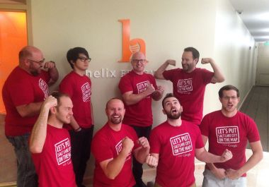 Helix Celebrates Google Gold