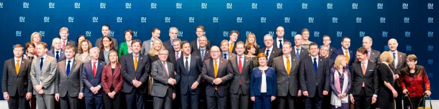 Bezoek Europese Commissie bij start Nederlands EU-voorzitterschap