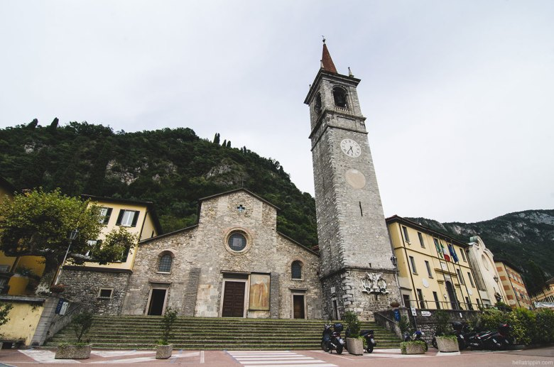 Chiesa di San Giorgio stands over the charmingly intimate town square. Tucked away in a corner of the piazza is the older, Romanesque style Chiesa di San Giovanna Battisti.
