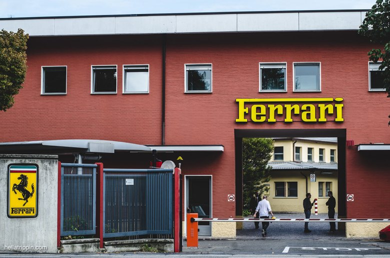Ferrari factory entrance