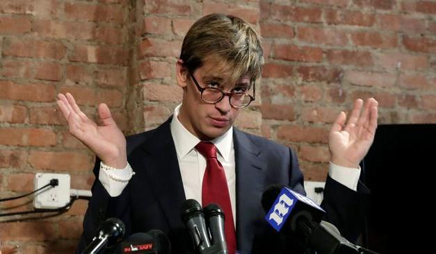 Milo Whatever The Fuck His Last Name Is Got Owned by Karma This Week