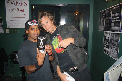 Joe with Rob Kachluba