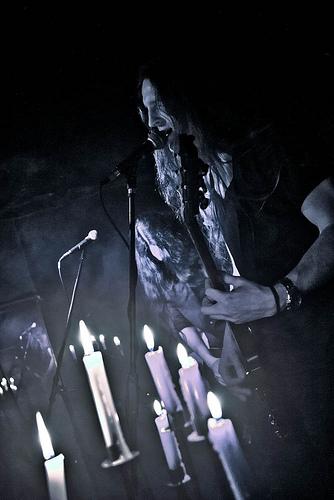 Alcest live by Adam Wills