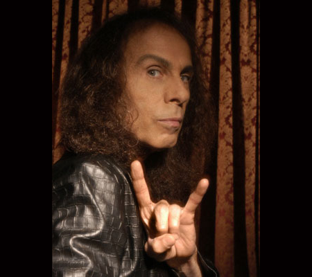 Ronnie James Dio, never to be forgotton
