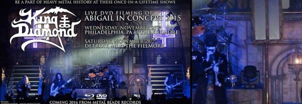 King Diamond Abigail 2015