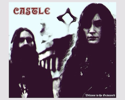 castle welcome to the graveyard album cover
