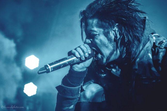 Like A Storm vocalist Photo credit: Bianca Bobescu