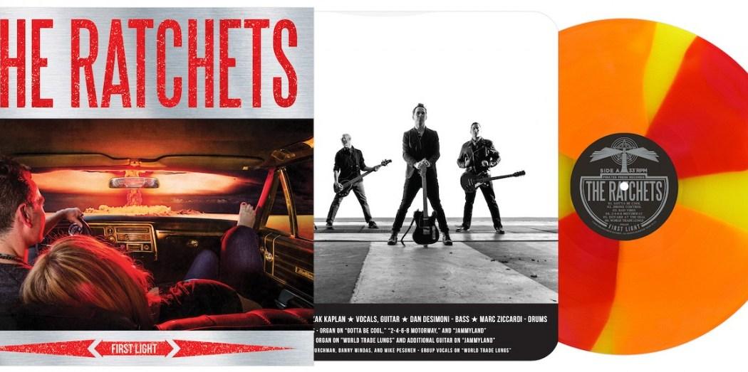 Rachets First Light album cover