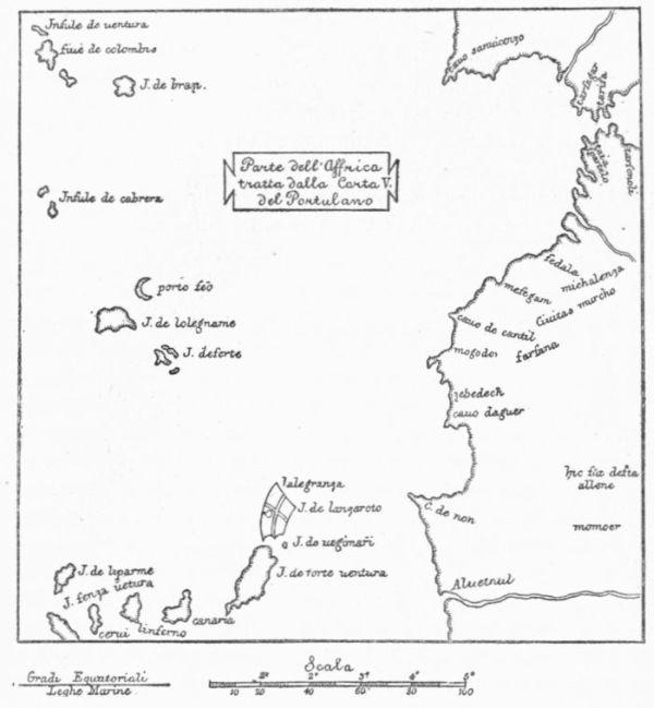 Map Catalan Azores