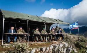 Παρουσία Αρχηγού ΓΕΣ στην Άσκηση του Τάγματος Εθνοφυλακής Καλπακίου
