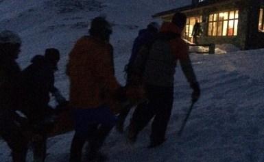 Φωτογραφικά στιγμιότυπα από την διάσωση 35χρόνης ορειβάτη