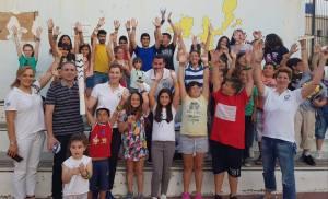 Έλληνες Ολυμπιονίκες στα σχολεία στους Φούρνους Ικαρίας