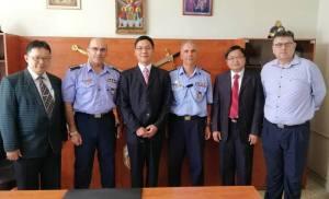 Επίσκεψη αντιπροσωπείας από την Ταιβάν στην Πυροσβεστική Ακαδημία