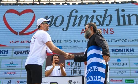 Η κορυφαία αθλητική, πολιτιστική, κοινωνική και πάνω απ' όλα φιλανθρωπική εκδήλωση «No Finish Line Athens», που αποτελεί πλέον το μεγαλύτερο ανοιξιάτικο γεγονός για όλη την Ελλάδα, θα είναι και πάλι κοντά μας το 2019 για τρίτη συνεχόμενη χρονιά στο Κέντρο Πολιτισμού Ίδρυμα Σταύρος Νιάρχος