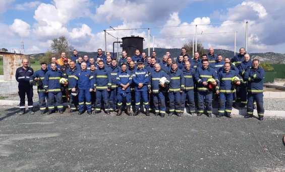 """Συνεχίζεται αυτές τις μέρες το εκπαιδευτικό πρόγραμμα των 40 μέλών των Πυροσβεστικών Σωμάτων Κύπρου και Ελλάδος στα πλαίσια του έργου """"ΗΡΩΝ"""""""