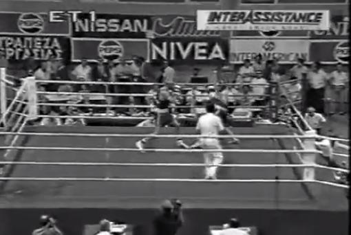Στη δημοσιότητα δόθηκε πριν λίγα λεπτά ένα σπάνιο συλλεκτικό βίντεο από τους σημαντικότερους αγώνες του Ολυμπιονίκη πυγμαχίας Γιώργου Στεφανόπουλου