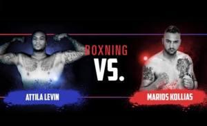 Attila Levin vs Μάριος Κόλλιας