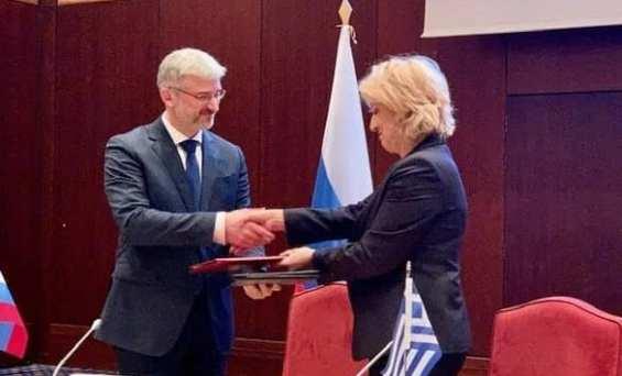 Η 12η Μεικτή Διυπουργική Επιτροπή Ρωσίας-Ελλάδας έλαβε χώρα στη Θεσσαλονίκη