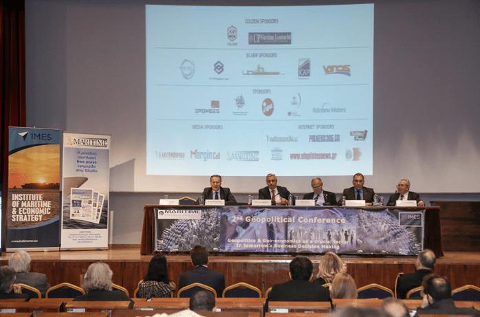 Με ιδιαίτερη επιτυχία ολοκληρώθηκαν οι εργασίες του 2ου Γεωπολιτικού Συνεδρίου που συνδιοργάνωσαν το Ναυτιλιακό περιοδικό Maritime Intelligence και το Ινστιτούτο Ναυτιλιακής & Οικονομικής Στρατηγικής