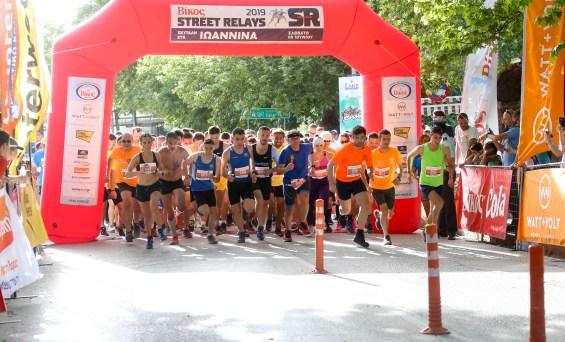 Σε μία μεγάλη γιορτή αθλητική αλλά και κοινωνική εξελίχθηκαν ταΒίκοςStreetRelaysτων Ιωαννίνων