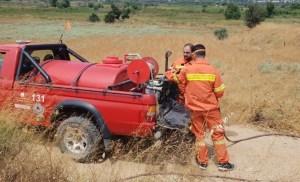 Σύλλογος Εθελοντών Δασοπροστασίας Καρύστου στην φωτια που εκδηλωθηκε  στα ΖΑΡΜΠΟΥΤΑΙΙΚΑ-ΠΛΑΚΑΡΗ ΚΑΡΥΣΤΟΥ