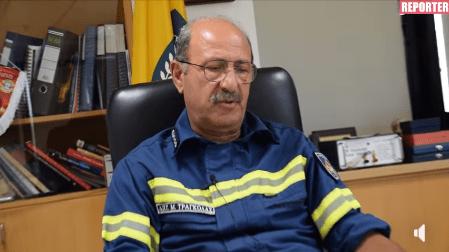 Μετά από σαράντα χρόνια υπηρεσίας, ο Μάρκος Τράγκολας ολοκληρώνει την καριέρα του και στις 31 Ιουλίου, κρεμάει οριστικά τη στολή του πυροσβέστη