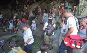 Το παρόν έδωσαν, για ακόμα μια χρονιά, τα μέλη της ΕΟΔ Κυκλάδων, καλύπτοντας στον τομέα των Πρώτων Βοηθειών, τις «Διαδρομές στη Μάρπησσα»