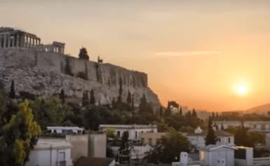 Γλυκοχάραμα στην Αθήνα – Όλγα Μακρή