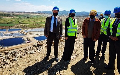 Visit of the Minister of Energy, Trade, and Industry, Natasa Pilides