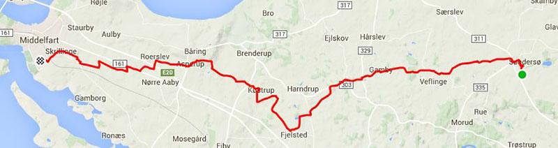 Hjemfraarb-rute