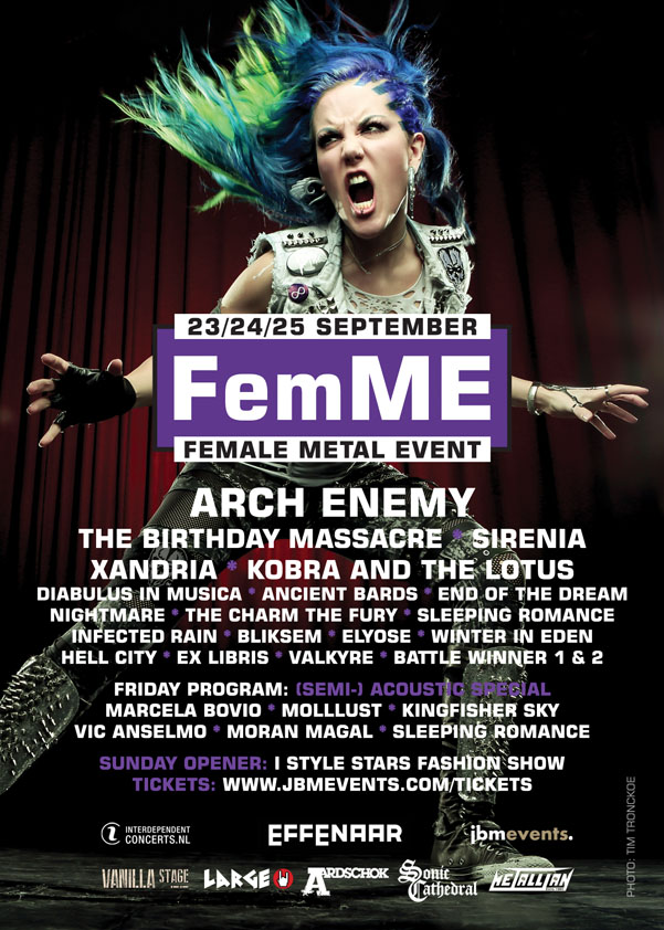 Femal Metal Event 2016