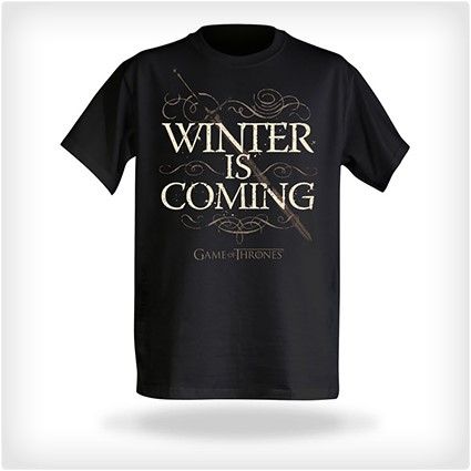 winter is coming printd shirt