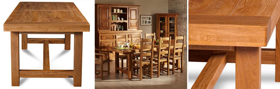 fabricant meuble en chene et rustique