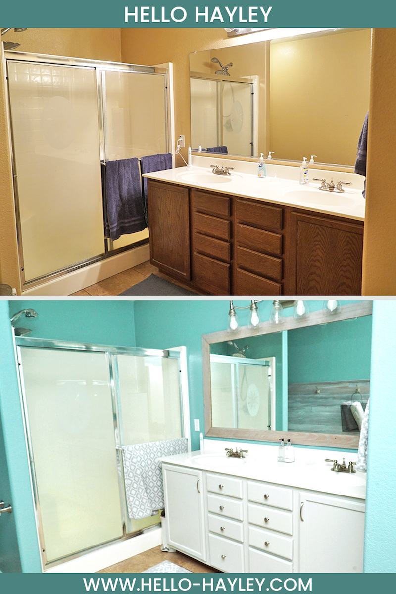 master bathroom makeover before and after pictures