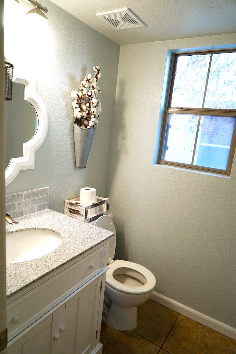 Guest Bathroom After - Full Shot