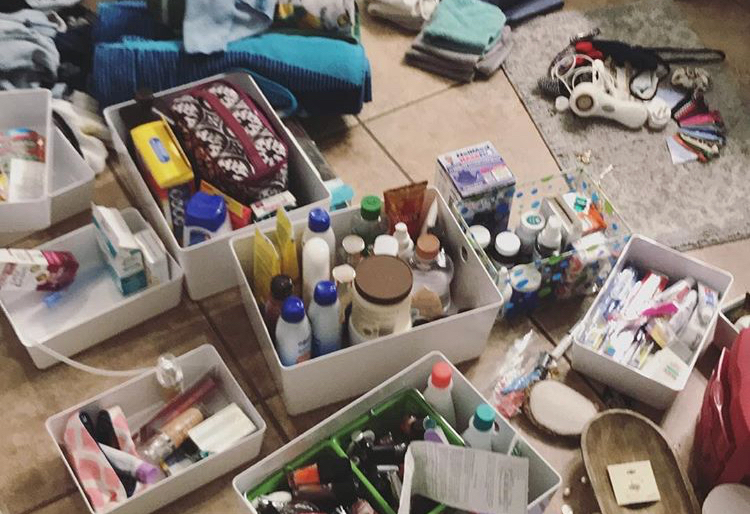 Decluttering your bathroom products