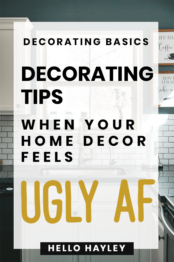 redecorating tips for ugly decor