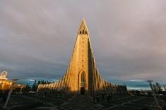 Hallgrimms Kirche in Reykjavik